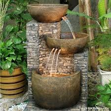 stylish water fountain small 17 best ideas about small fountains inside small outdoor fountain plan
