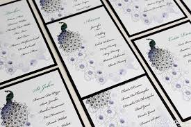 Peacock Wedding Theme Real Weddings Stationery By Nulki Nulks