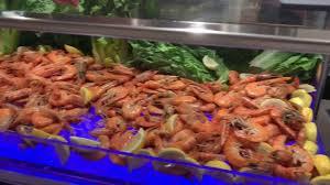 Norwegian Joy Seafood Buffet - YouTube