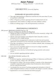Examples Of Resumes For High School Students Elegant College Resume