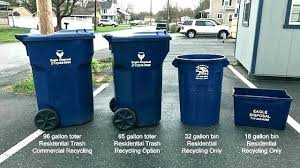 toter 96 gallon. Toter 96 Gallon Trash Can Gal Cans Spring Township Inside Decor G