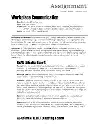Email Memorandum Format Assignment The Visual Communication Guy