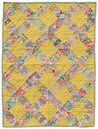 106 best Feedsack Quilts images on Pinterest | Abstract, Appliques ... & Vintage yellow quilt - 1930's reproduction feedsack quilt, 1930's fabrics,  feedsack fabrics Adamdwight.com