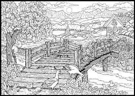 Small Picture Complex Coloring Pages Nature Free Background Coloring Complex