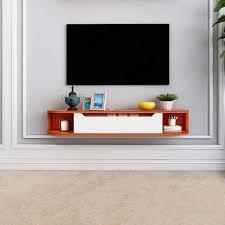 Wall Tv Cabinet Design Amazon Com Floating Shelf Wall Tv Cabinet Modern Tv Stand