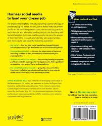 job searching social media for dummies joshua waldman job searching social media for dummies joshua waldman 9781118678565 amazon com books