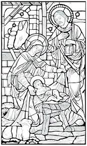 Christmas Manger Scene Coloring Pages Nativity Coloring Sheets