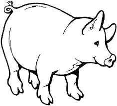 Barnyard Animals Coloring Pages Farm Animals Coloring Free Printable