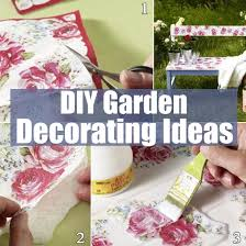 Small Picture Budget Friendly DIY Garden Decorating Ideas DIY Home Things