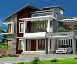 exterior of house design. stunning exterior house design in various colors of white also brown plus grey g