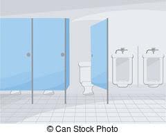 public bathroom clipart. Plain Bathroom Public Restroom  Illustration Of A With Intended Bathroom Clipart Can Stock Photo