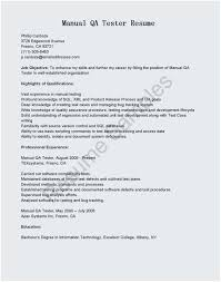 Sample Resume For Experienced Software Tester Sample Resume Of Manual Tester Best Objective for software Testing 16