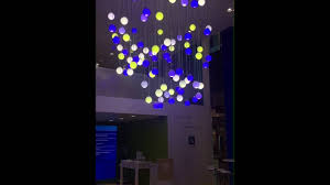 chandelier with philips hue programmable led