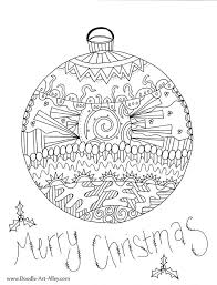 Christmas, the preferred time for children, but also parents, who love to spoil their children ! Merry Christmas Ornaments Coloring Page Coloring Rocks