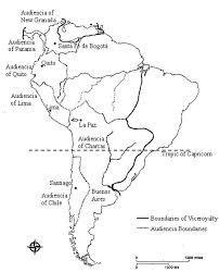 Map Quiz Study Guide Colonial Latin America