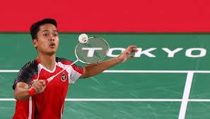 Anthony sinisuka ginting (born 20 october 1996) is an indonesian badminton player. Olimpiade Tokyo Kalahkan Wakil Jepang Anthony Ginting Ke Babak 8 Besar Sport Tempo Co