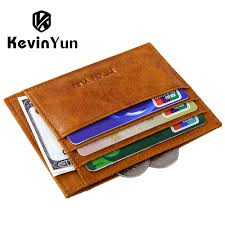 Men S Ipad Cases Designer Kevin Yun Designer Brand Card Holder Oil Genuine Leather Men Credit Card Case Wallet In Card Id Holders From Luggage Bags On Aliexpress Com