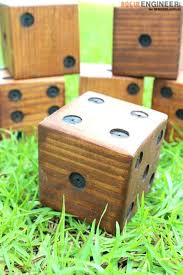 wooden yard jumbo tumbling blocks game