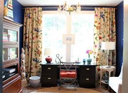 curtains for home office. Home Office Decorating Makeover {The Reveal!} Curtains For N