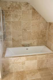 attic travertine bathroom tiles