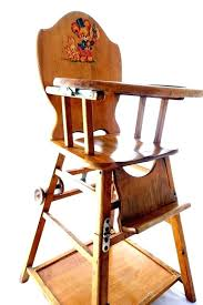 baby wooden chair baby high chair and table antique baby high chair vintage baby high chair