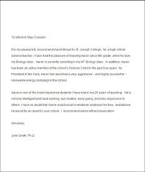 college re mendation letter from a teacher 5