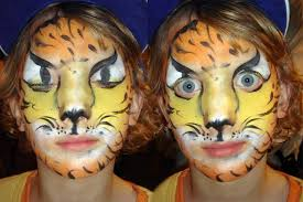 face painting designs tiger