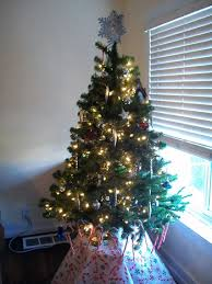 Prelit Lighted 4 Foot Tall Artificial Christmas Tree4 Christmas Trees