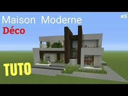 tuto minecraft maison moderne 5 déco ps4 ps3 xbox360 xboxone psvita pc