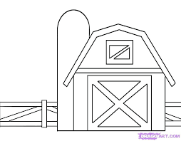 Barn Coloring Pages Printable Coloring Page Of A Farm House Unique