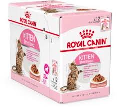royal canin wet food kitten sterilised pouches