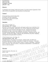 Outside Sales Resume Template Awesome Outside Sales Resume Examples Resume And Cover Letter Resume And