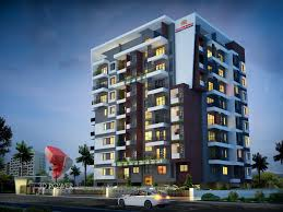 apartments design. Elevation Row House Model 3D Apartment Night View Apartments Design