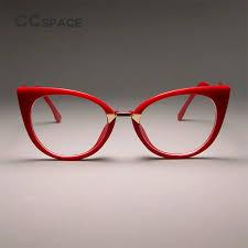 CCSPACE Ladies Sexy Cat <b>Eye Glasses Frames</b> For Women ...
