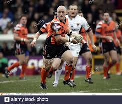 Rugby League - Castleford Tigers gegen Huddersfield Giants - Engage Super  League - The Jungle - 26/3/06 Ben Roarty - Castleford Tigers in Aktion  Kreditaufnahme: Action Images / John Sibley Stockfotografie - Alamy