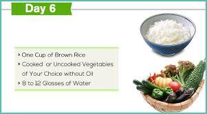 Gm Diet Vegetarian Chart All Essential Details Regarding The Gm Diet Plan Day 6 Diet