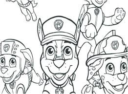 Paw Patrol Coloring Sheets Everest Printable Pages Chase Ryder To
