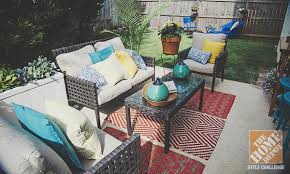 Outdoor Patio Cushions Simple Home Depot Patio Furniture And Patio