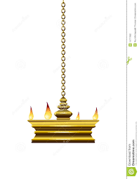 Oil Lamp Stock Vector Illustration Of Hanging White 14777982