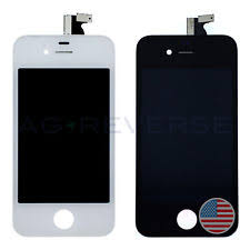 iphone 4 screen replacement. iphone 4 black / white replacement screen lcd digitizer at\u0026t t-mobile a1332 gsm iphone m