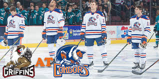game bakersfield condors edmonton oilers v grand rapids griffins detroit red wings