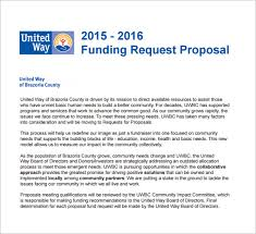 Business Proposal For Funding Template Writing The Grant Proposal ...