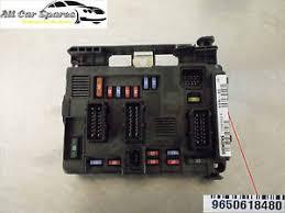 peugeot 206 1 6 16v petrol manual fuse box fusebox bsm image is loading peugeot 206 1 6 16v petrol manual fuse
