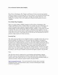Restaurant Business Plan Template Unique Business Plan Marketing Documents Ideas Restaurant Conclusion 17