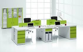 office workstation design. 2012 Modern New Design 4 Seats Plywood And Steel Frame Office Workstation Furniture Manufacturer