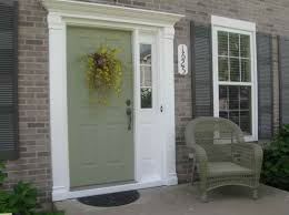 exterior door painting ideas. How To Choose Front Door Paint Colors With Green Colour Exterior Painting Ideas R