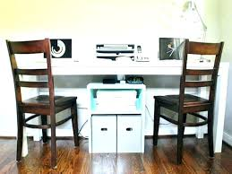 two person home office desk. Two Person Work Desk Home Office Brilliant 2 Ideas