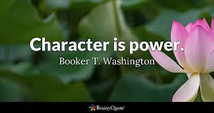 Booker T Washington Quotes Simple Character Is Power Booker T Washington BrainyQuote