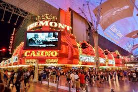 the fremont and the canopy of the fremont street experience in downtown las vegas