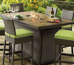 charming bar height patio dining set 52 best images about fire pit within fire pit dining table